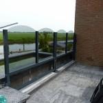 Balkon windschermen