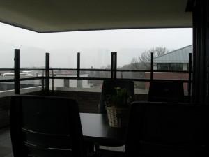 Balkon windschermen kopen - EK Terrasschermen